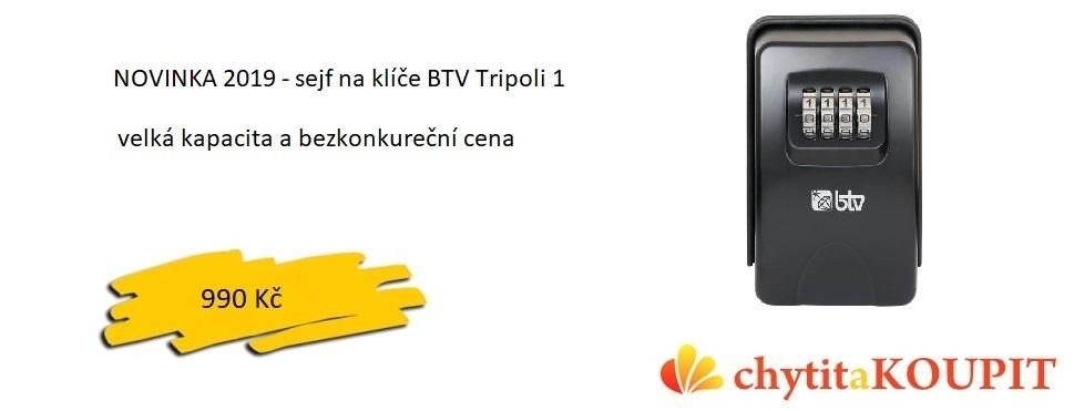 Sejf na klíče BTV Tripoli 2