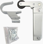 Zámečnictví - klíče : Dveřní dovírač 302 bílý