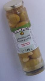 Zámečnictví - klíče : Olivy zelené s mandlí