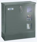 Zámečnictví - klíče : Poštovní schránka Rottner Postale šedá - s boxem