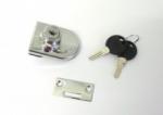 Zámečnictví - klíče : SISO zámek C408 na sklo - Chrom