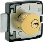 Zámečnictví - klíče : Zámek nábytkový FAB 462 NS mosaz