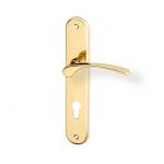 Zámečnictví - klíče : Dveřní kování Jana mosaz 72mm FAB