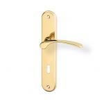 Zámečnictví - klíče : Dveřní kování Jana mosaz 90mm klíč
