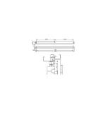 Zámečnictví - klíče : Montážní plech A104 pro kluzná ramínka