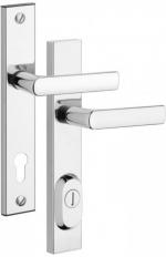 Zámečnictví - klíče : Bezpečnostní kování Rostex R4/72mm Cr bez vložky