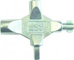 Zámečnictví - klíče : Klíč víceúčelový LK1 na rozvodné skříně 4 díly
