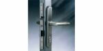 Zámečnictví - klíče : Samozamykací zámek Abloy EL461/40/24 elektromechanický - backset 40mm