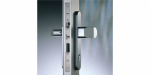 Zámečnictví - klíče : Samozamykací zámek Abloy CERTA EL420 elektromotorický s externí ústřednou - backset 30mm