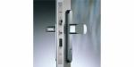 Zámečnictví - klíče : Samozamykací zámek Abloy CERTA EL420 elektromotorický s externí ústřednou - backset 40mm
