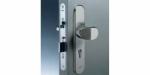 Zámečnictví - klíče : Samozamykací zámek Abloy CERTA EL520 elektromotorický s externí ústřednou - backset 80mm