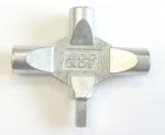 Zámečnictví - klíče : Klíč víceúčelový LK3 na rozvodné skříně 4 díly