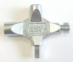 Zámečnictví - klíče : Klíč víceúčelový LK4 na rozvodné skříně 4 díly