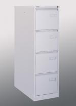 Zámečnictví - klíče : Bisley Kartotéka A4 - kovová kartotéka čtyřzásuvková IPCCA14 [světle šedá (av7, RAL 7035), strukturovaný lak]