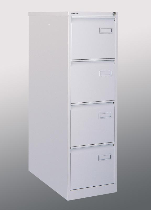 Kartotéka A4 - kovová kartotéka čtyřzásuvková Bisley IPCCA14