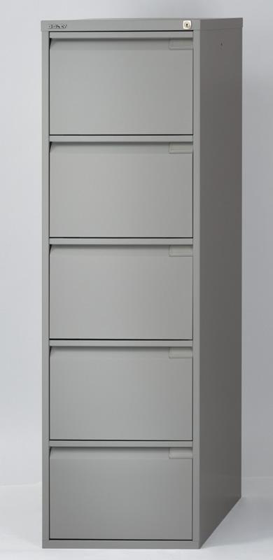 Kartotéka kovová BS5E FLS-A4 pětizásuvková