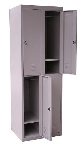 Šatní skříň EASY dvojdílná se 4-mi boxy