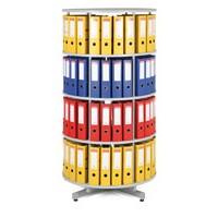 Archivační otočná skříň na pořadače 4 patra