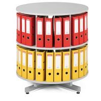 Archivační otočná skříň na pořadače 2 patra
