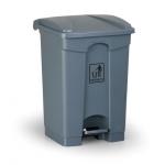 Odpadkový koš nášlapný - střední