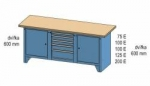Dílenský stůl PS 2-2