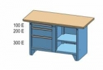 Dílenský stůl PK PS 1-4