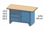 Dílenský stůl PK PS 1-2