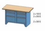 Dílenský stůl PK PS 1-1