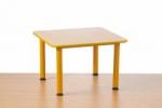 Předškolní stůl Domino čtvercový-stavitelný