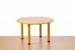 Předškolní stůl Domino kulatý-stavitelný
