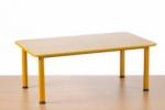 Předškolní stůl Domino obdélníkový , stavitelný   JTM