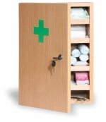 Lékárnička-dřevěná