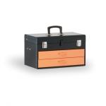 Kovový kufr na nářadí  450x270x295