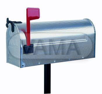 Americká poštovní schránka US MAILBOX vč. STOJANU - hliník