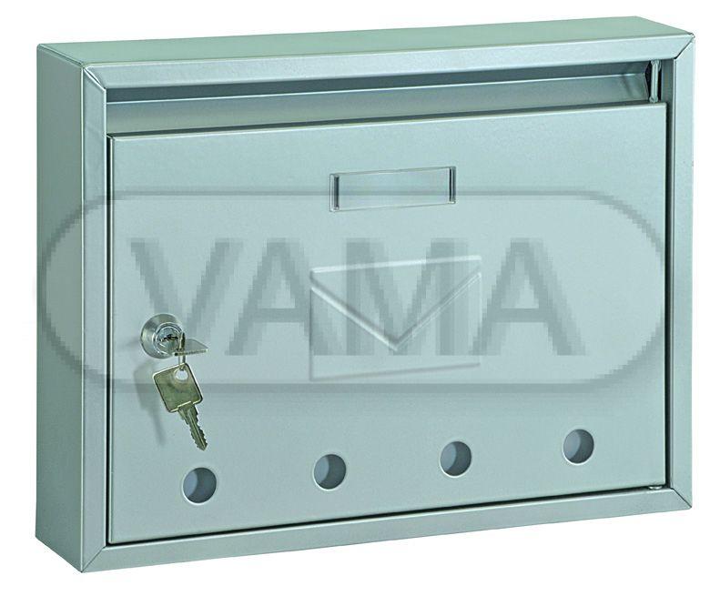 Poštovní schránka Rottner Imola stříbrná originál