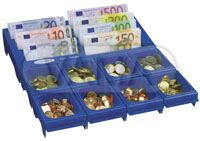 Mincovník Cash-notes-Euro+pořadač bankovek