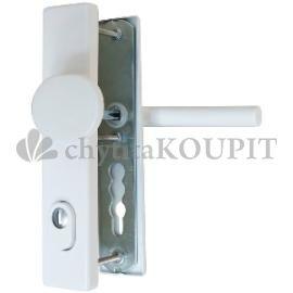 Bezpečnostní kování klika-koule Weka 5035 F4 elox