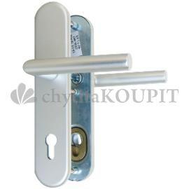 Bezpečnostní kování klika-klika Weka 5080 F4 elox