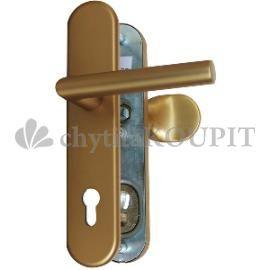Bezpečnostní kování klika koule WEKA 5080 F4 elox