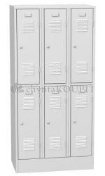Šatní skříň kovová SHS 33A