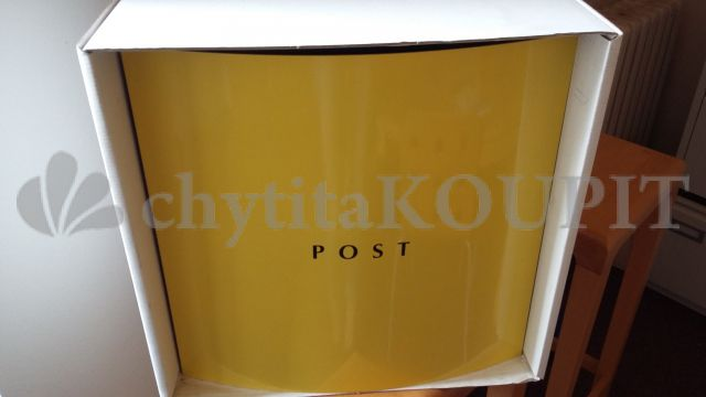 Poštovní schránka B7000 žlutá