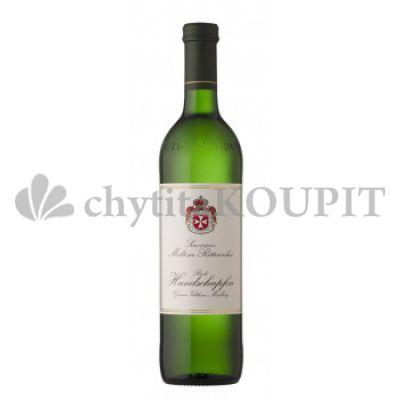 Víno Veltlínské zelené Hundschupfen řádu Maltézských rytířů Rakousko
