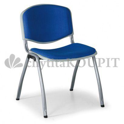 Čalouněná konferenční židle LIVORNO, modrá