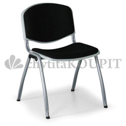Čalouněná konferenční židle LIVORNO, černá