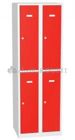 Šatní skříňka s dělenými dveřmi A8232