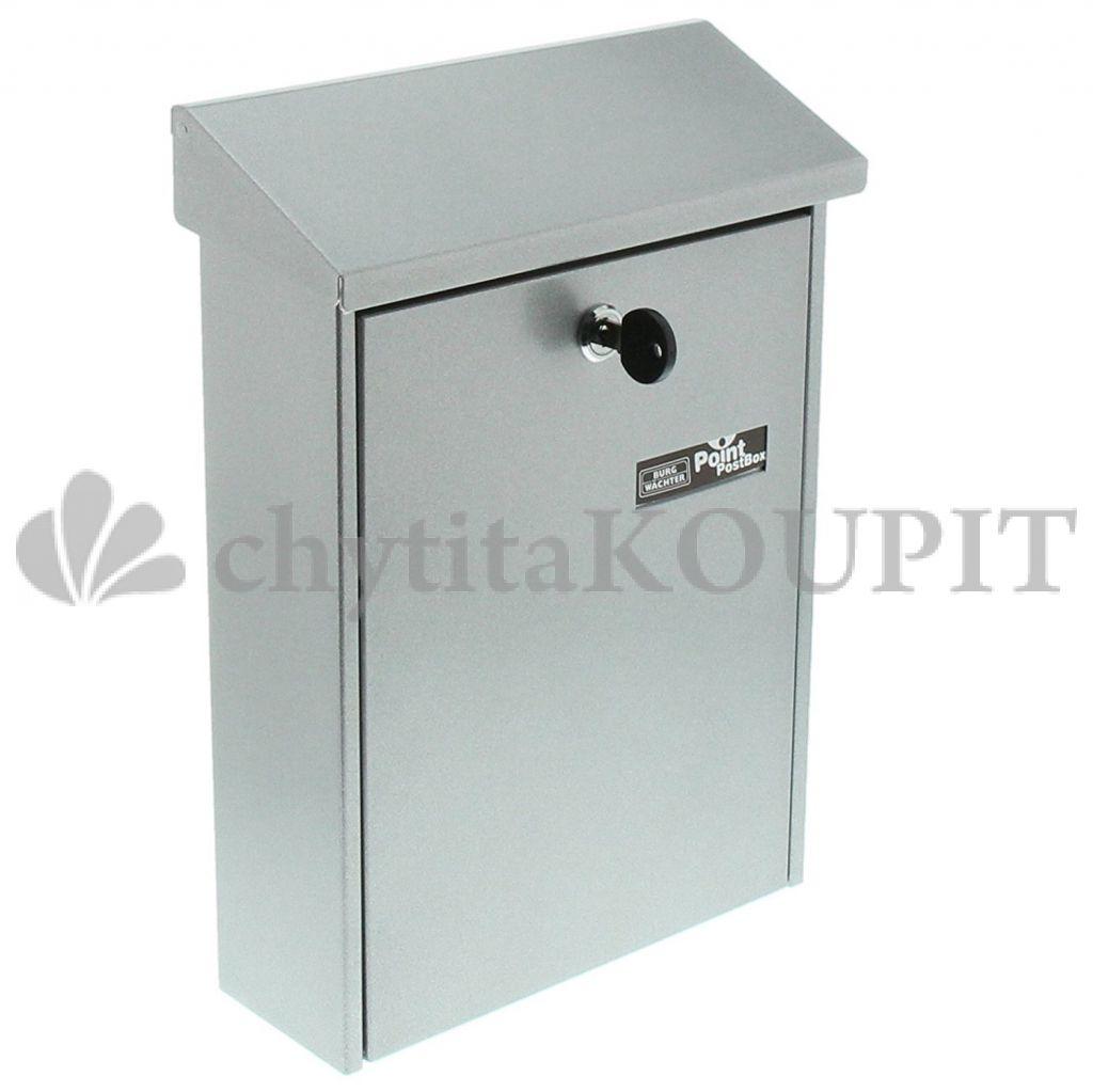 Poštovní schránka Burg Point 5861 stříbrná