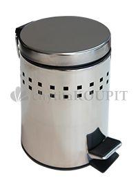 Odpadkový koš nášlapný nerezový 3 L