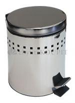 Odpadkový koš nášlapný nerezový 5 L