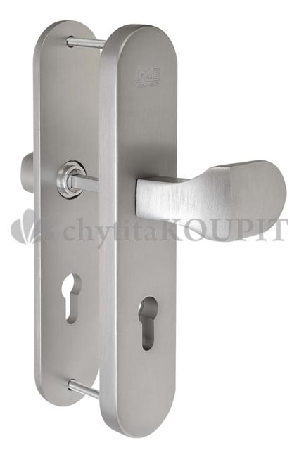 Bezpečnostní kování FAB BK325 F1 kl.+madlo