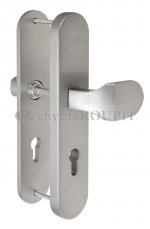 Bezpečnostní kování FAB BK325 IROX 90 mm klika-madlo